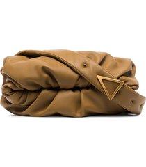 bottega veneta the body pouch shoulder bag - green