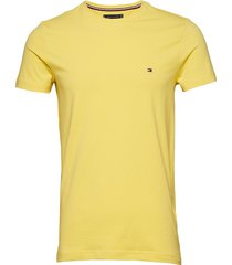 stretch slim fit tee t-shirts short-sleeved gul tommy hilfiger