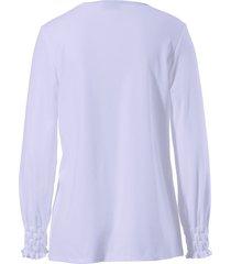 pyjama 100% katoen lange mouwen van féraud paars