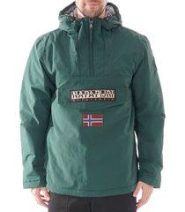 napapijri rainforest winter jacket |hunter green| n0ygnjgd8