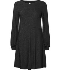 dresses knitted knälång klänning svart esprit casual