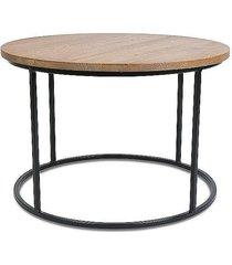 stolik kawowy loft 70 cm ciemny dąb