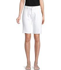 dl1961 premium denim women's jerry bermuda shorts - cottton wood - size 24 (0)