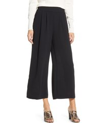 women's 1.state wide leg crepe trousers