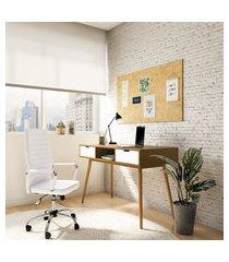 cadeira de escritório diretor giratória beyond branca
