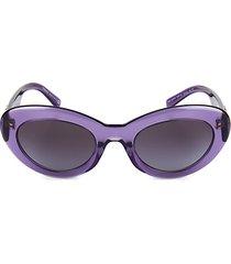 52mm cat eye sunglasses