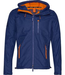 hooded windtrekker tunn jacka blå superdry