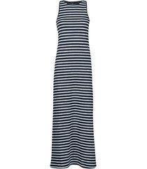 lange jurk superdry jersey maxi dress