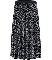 carossa knälång kjol grå by malene birger