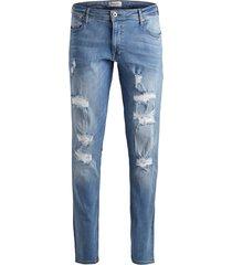 jack & jones plus size spijkerbroek 5-pocket blauw