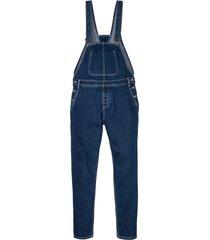 salopette di jeans loose fit tapered (blu) - rainbow