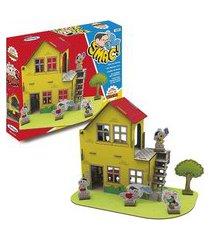 turma da mônica casa monte e brinque - xalingo