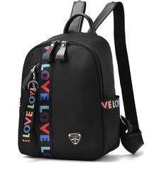 mochila de mujer/ mochila de viaje bolsos escolares femeninos para-negro