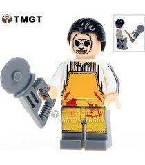 texas chainsaw horror movie massacre tv shows minifigure building blocks toys