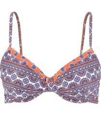 reggiseno bikini  sostenibile (blu) - bpc bonprix collection