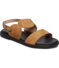 a-7911 shoes summer shoes flat sandals beige wonders