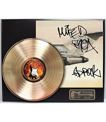 """beastie boys - license to ill gold lp reproduction signature display """"m4"""""""