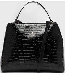 cartera negro vizzano