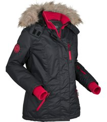 giacca outdoor imbottita con fodera in pile (nero) - bpc bonprix collection