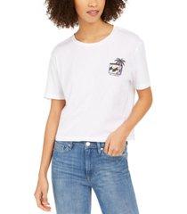 billabong juniors' heritage palm cotton graphic t-shirt