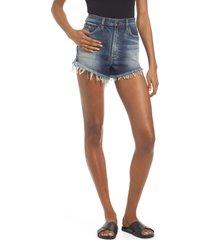 lee high waist cutoff denim shorts, size 30 in compass at nordstrom