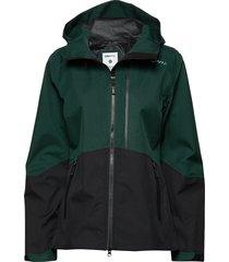 shell jkt w outerwear sport jackets groen craft