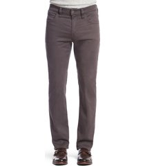 men's big & tall 34 heritage charisma relaxed fit pants, size 42 x 36 - grey