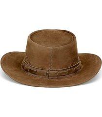 chapéu fourcountry australiano tabaco furado bege