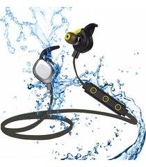 audífonos bluetooth manos libres inalámbricos, u5 plus ipx7 sport magnetic estéreo auriculares inalámbricos auriculares audifonos bluetooth manos libres  al aire libre (negro)