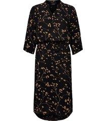 sl zaya dress knälång klänning svart soaked in luxury