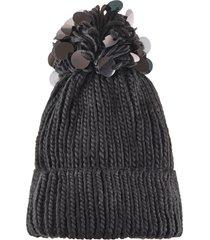 berretto con paillettes (nero) - bpc bonprix collection