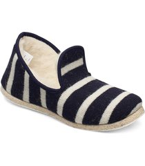 chaussons rayés ''''maoutig'''' loafers låga skor blå armor lux