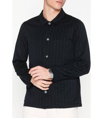 nn.07 ezra 3426 skjortor blue stripe