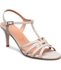 dance sandal t-string sandal med klack creme apair
