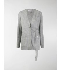 chloé tied v neck cardigan