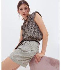 shorts lurex
