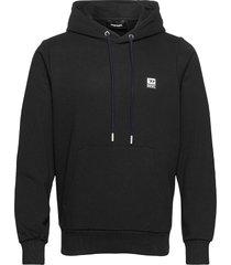 s-girk-hood-k21 sweat-shirt hoodie trui zwart diesel men