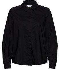 ysabella blouse lange mouwen zwart rodebjer