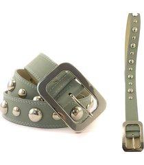 cinturón gris almacén de paris