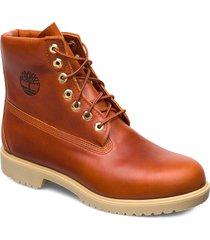 tbl 1973 newman6 boot wp snörade stövlar brun timberland
