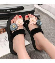 plataforma antideslizante para el verano chancletas zapatillas para mujer