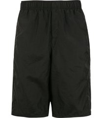 osklen relaxed shorts - black