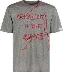 golden goose adamo creativity is the answer regular t-shirt
