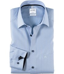 olymp dress hemd 109454 blauw