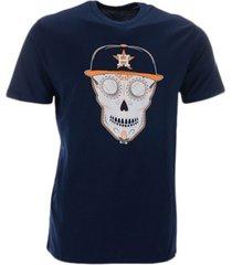 '47 brand houston astros men's sugar skull flatbill t-shirt