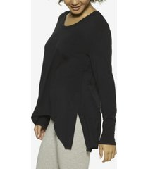 felina essentials asymmetrical modal lounge tunic