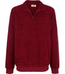 fleece trui roger kent rood