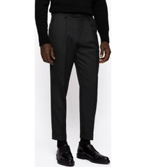 boss men's porte oversized-fit trousers