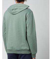 a.p.c. men's item hoodie - gray green - s