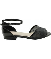 sandalia negra vemmas gala
